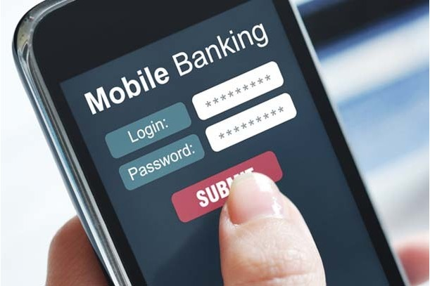 How safe is online banking on a mobile phone?